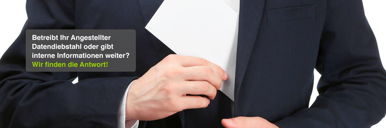 Datendiebstahl / Informationsweitergabe Detektei Privat