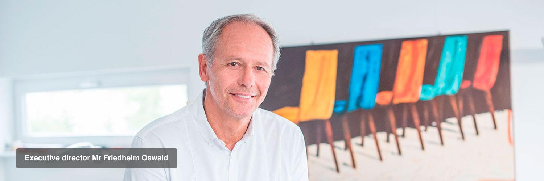Executive director Mr Friedhelm Oswald